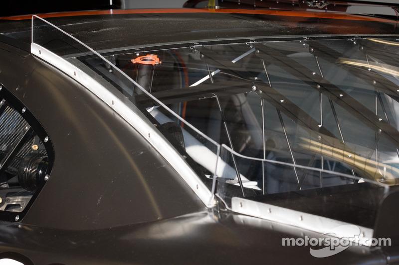 Aerodynamica op de  Richard Childress Racing Chevrolet