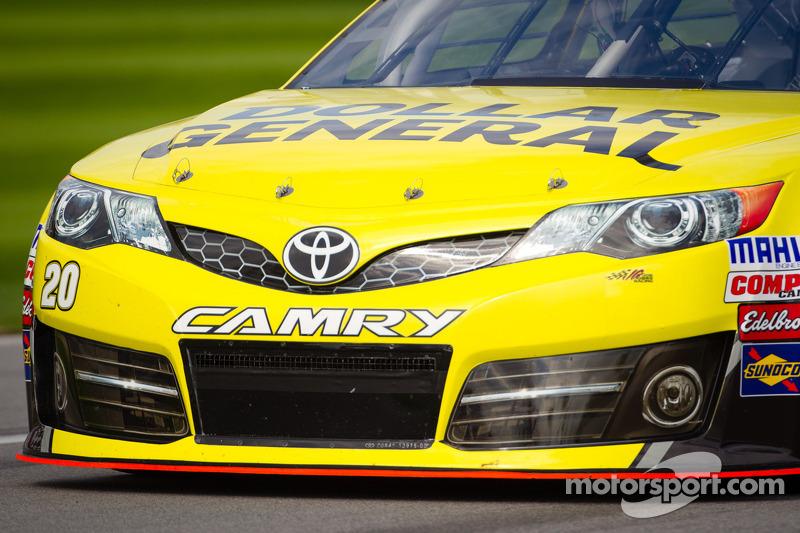 Matt Kenseth, Joe Gibbs Racing Toyota, front detail