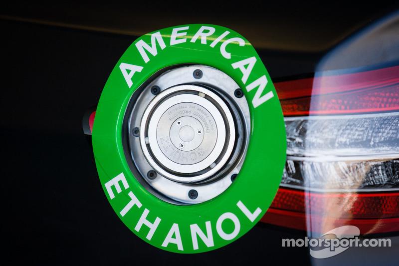Car of Juan Pablo Montoya, Earnhardt Ganassi Racing Chevrolet, detail