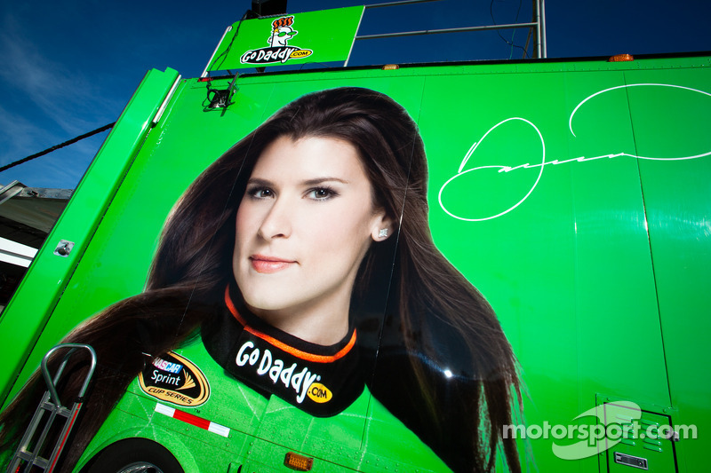 Transporter for Danica Patrick, Stewart Haas Racing Chevrolet