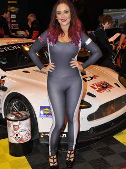 Britcar/Aston Martin promo girl