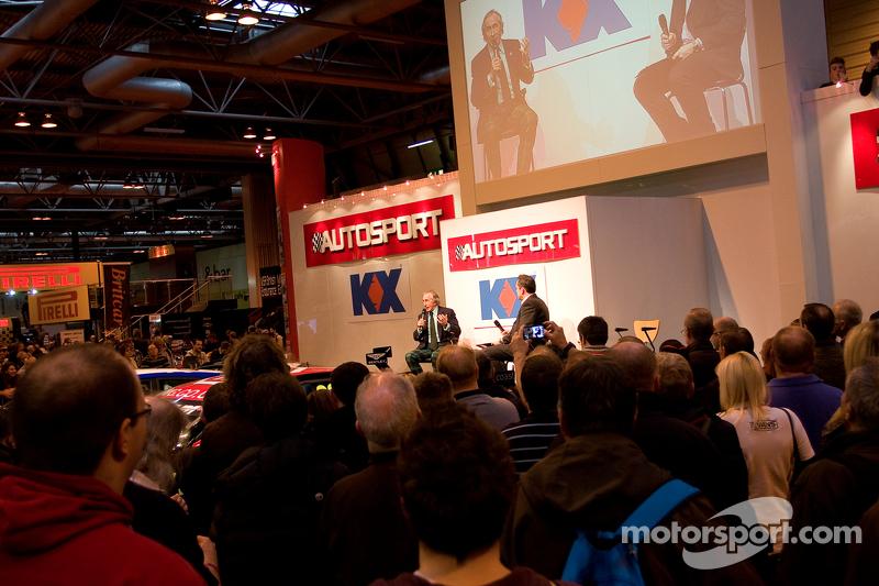 Международная автоспортивная выставка, Бирмингем, воскресенье.