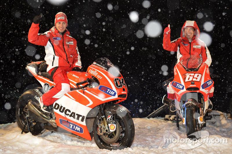 2013 - Andrea Dovizioso et Nicky Hayden