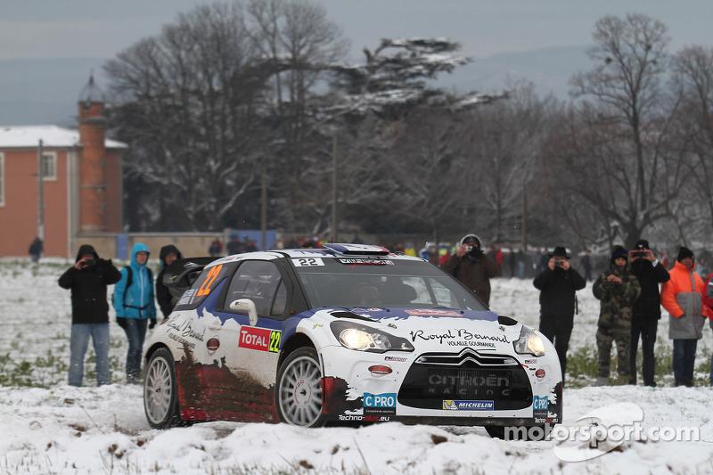 Bryan Bouffier en Xavier Panseri, Citroen DS3 WRC