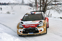 Mikko Hirvonen and Jarmo Lehtinen, Citroën DS3 WRC, Citroën Total Abu Dhabi World Rally Team