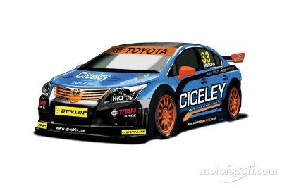 Ciceley Racing unveils new Toyota