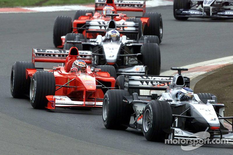 Михаэль Шумахер. ГП Европы, Воскресная гонка.