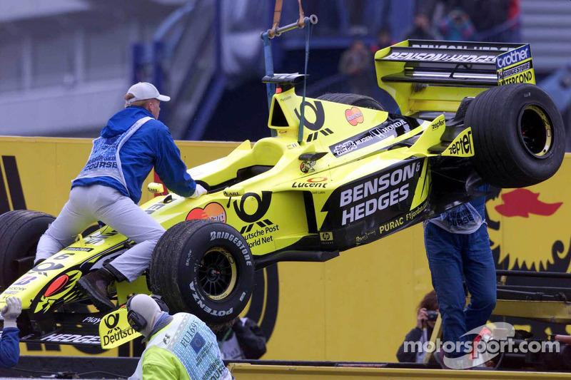 Джанкарло Физикелла. ГП Европы, Воскресная гонка.
