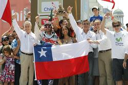 O terceiro colocado in Bike category Francisco Lopez