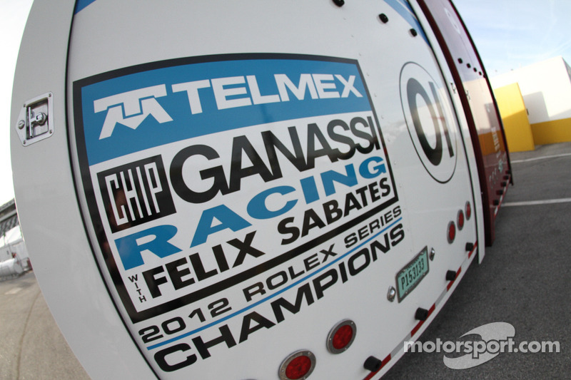 Chip Ganassi Racing met Felix Sabates hauler