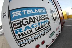 Chip Ganassi Racing with Felix Sabates hauler