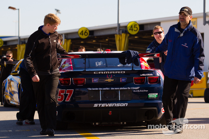 #57 Stevenson Motorsports Camaro GT.R