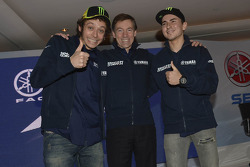 Valentino Rossi and Jorge Lorenzo, Yamaha Factory Team
