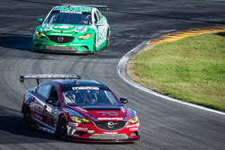 #70 Mazdaspeed Speedsource Mazda6 GX: Jonathan Bomarito, Marino Franchitti, James Hinchcliffe, Sylvain Tremblay