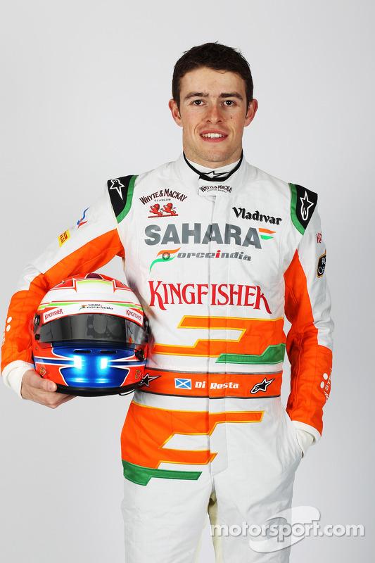 Paul di Resta, Sahara Force India F1 Team