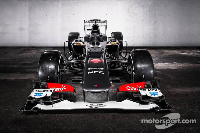 El Sauber C32 que probará Tatiana Calderón en Fiorano, en sus colores originales: