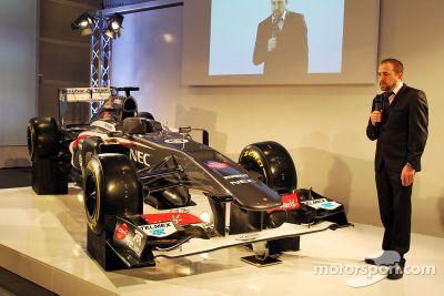 Sauber F1 Team C32, Lanzamiento