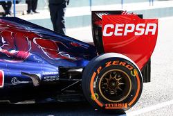 Daniel Ricciardo, suspensão traseira da Scuderia Toro Rosso STR8