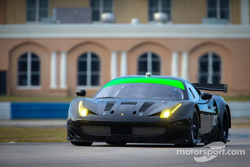 #02 Extreme Speed Motorsports Ferrari F458 Italia: Ed Brown