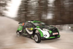 Yazeed Al Rajhi and Mathieu Baumel, Ford Fiesta S2001