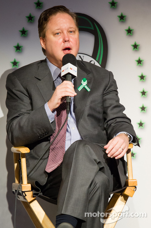 Coletiva Swan Racing Toyota Town of Newton: Brian France
