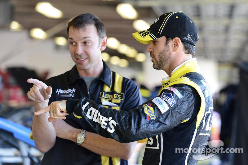 Chad Knaus en Jimmie Johnson, Hendrick Motorsports Chevrolet