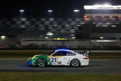 #21 Dener Motorsport Porsche GT3: Ricardo Mauricio, Rubens Barrichello, Tony Kanaan, Nono Figueiredo, Felipe Giaffone