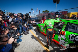 Media attention for Danica Patrick, Stewart-Haas Racing Chevrolet