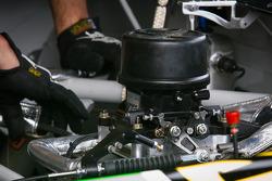 Engine detail, Danica Patrick, Stewart-Haas Racing Chevrolet