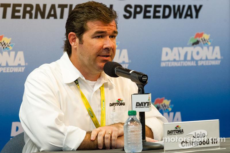 Press conference: Daytona International Speedway President Joie Chitwood
