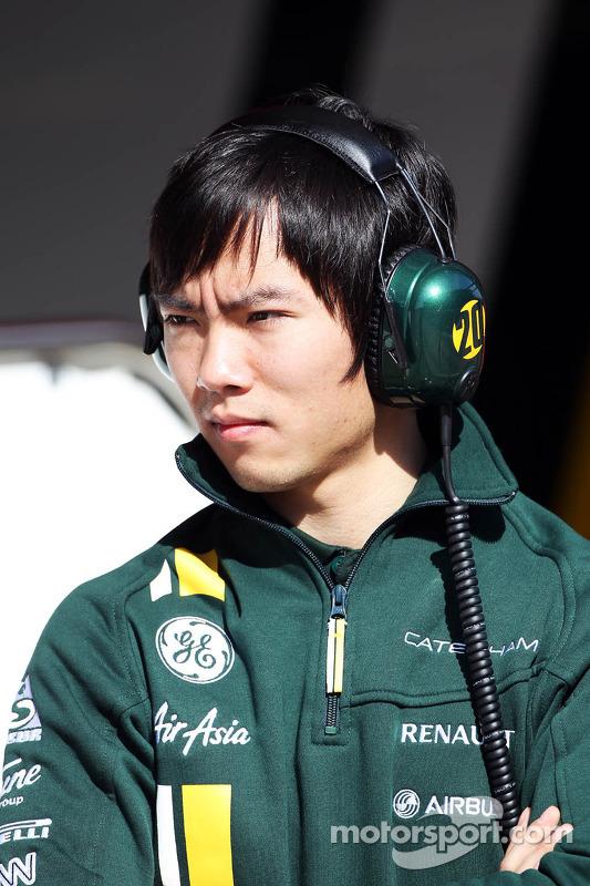 Ma Qing Hua, Testrijder Caterham F1