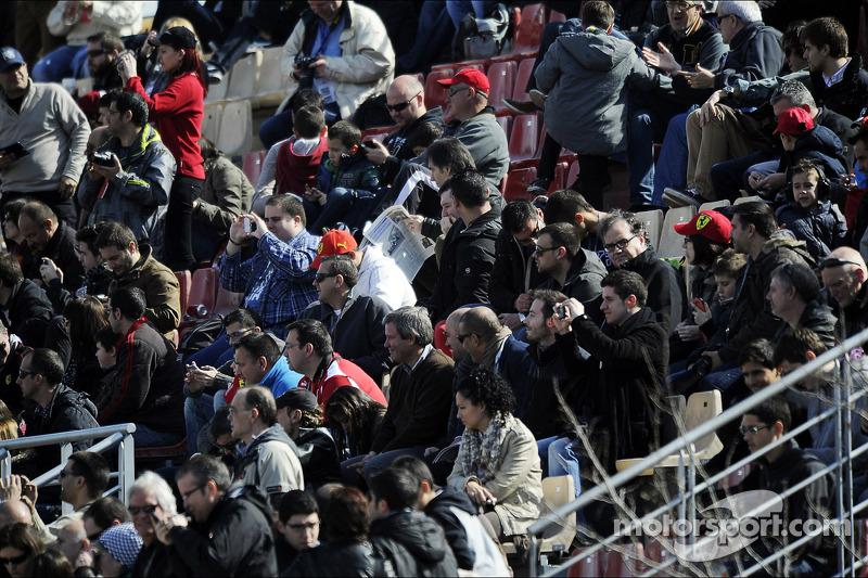 Мартовские тесты в Барселоне, Воскресенье.
