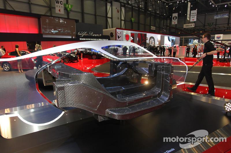 Alfa Romeo 4C carbon Fiber Chassis