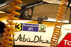 Daniel Sordo and Carlos del Barrio, Citroën DS3 WRC, Citroën Total Abu Dhabi World Rally Team