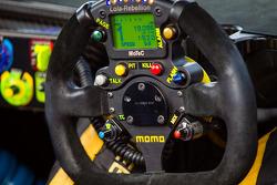 #12 Rebellion Racing Rebellion Lola B12/60 Toyota steering wheel