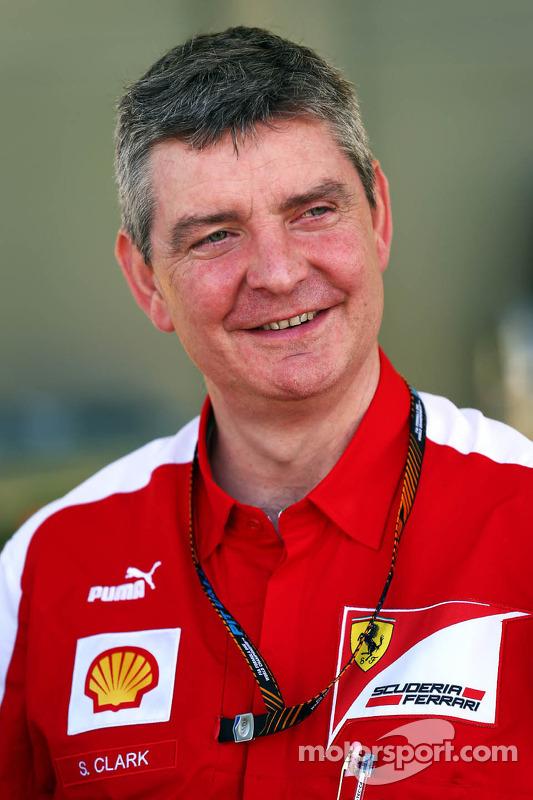 Steve Clark, Ferrari Engenheiro-chefe