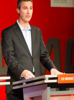 Coletiva da Sports Car Series: GRAND-AM Presidente e CEO Ed Bennett