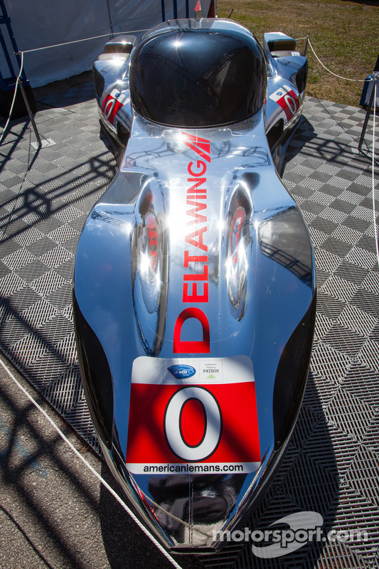 O novo DeltaWing Racing carros DeltaWing LM12 Elan Coupé