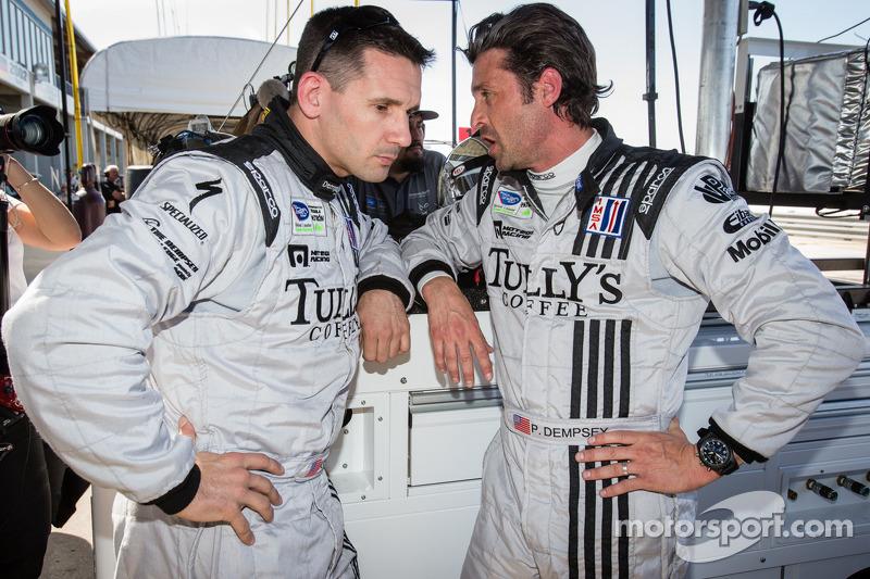 Andy Lally en Patrick Dempsey