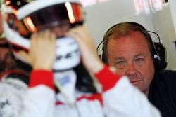 Red Bull Racing RB9 of Sebastian Vettel  Red Bull Racing is prepared