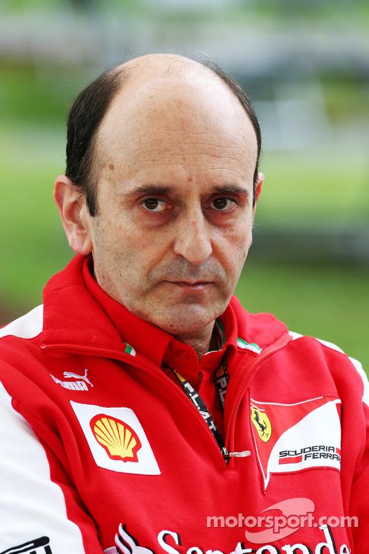 Luca Mamorini, Ferrari Head of Engine en Electronics Department
