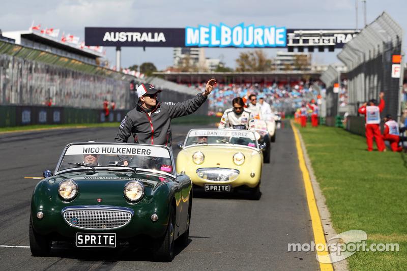 Нико Хюлькенберг. ГП Австралии, Воскресенье, перед гонкой.