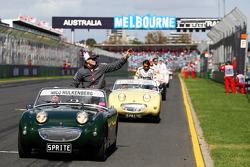 Nico Hulkenberg, Sauber on the drivers parade