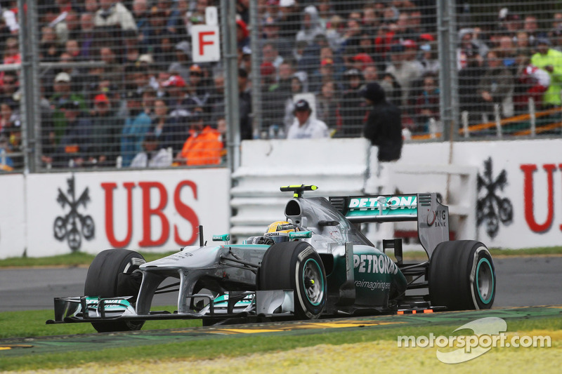 New start with Mercedes in 2013
