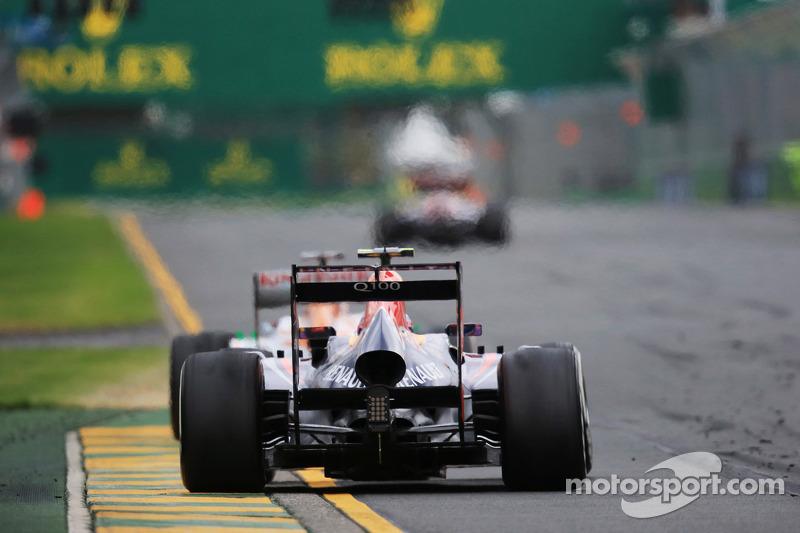 Марк Уэббер. ГП Австралии, Воскресная гонка.