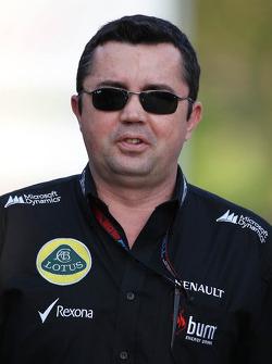 Eric Boullier, chefe da equipe Lotus F1