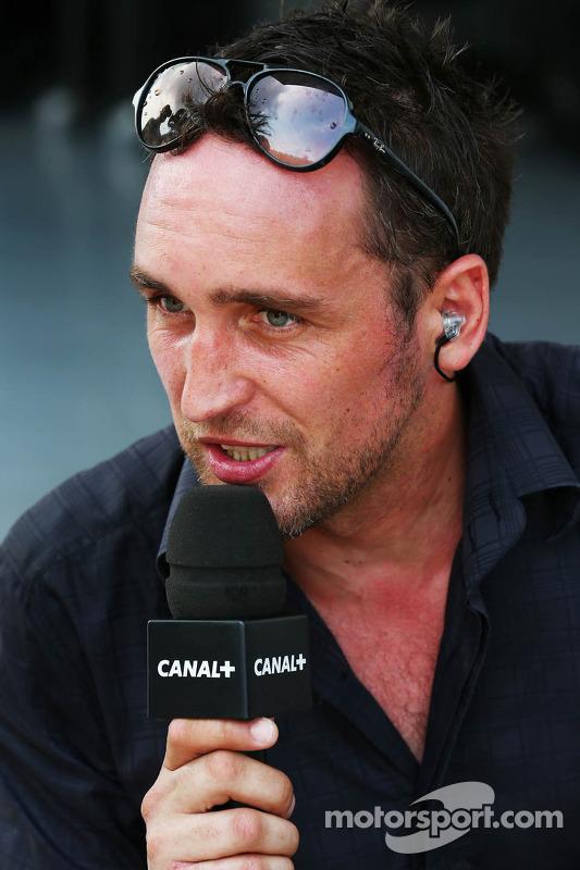 Franck Montagny, Apresentador do Canal+