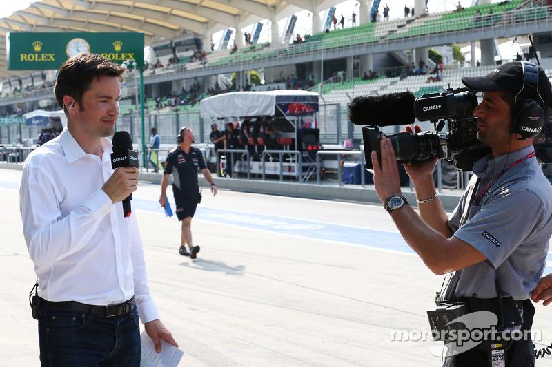 Canal+ TV Presentator