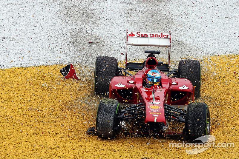 Фернандо Алонсо. ГП Малайзии, Воскресная гонка.