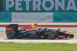 Mark Webber, Red Bull Racing RB9 and Sebastian Vettel, Red Bull Racing RB9